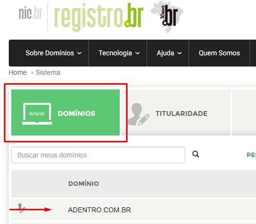 painel registro br